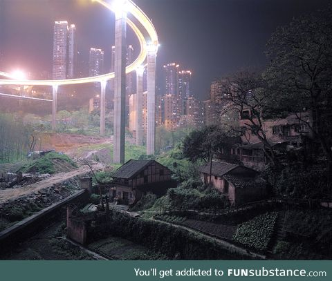 Some contrast in Chongqing, China