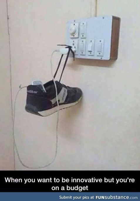 Creativity on a budget