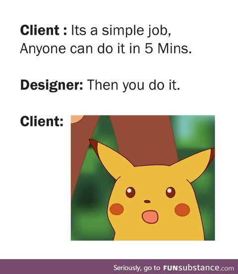 A simple job...!