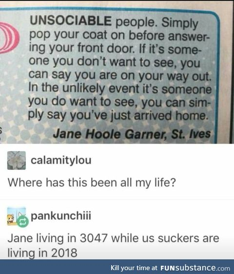 Oh Jane where were u all this time??