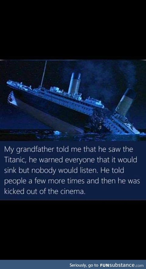 Grandpa and his glory days