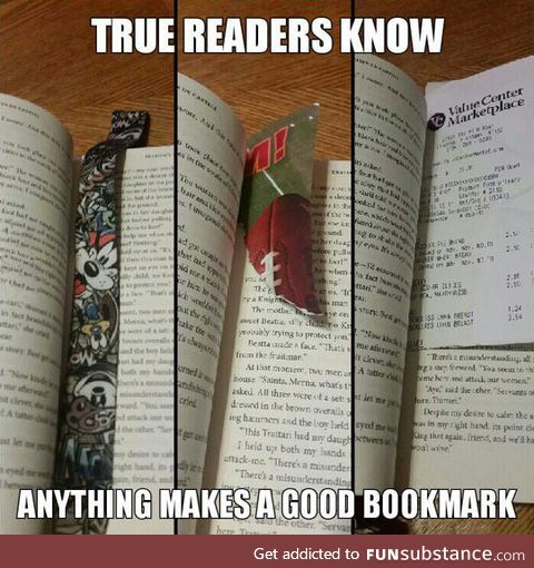 Only true readers will get this