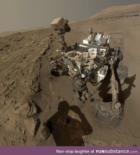 Proof we just landed in Mars