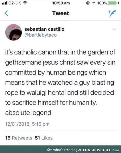 Jesus the expert on Rule 13