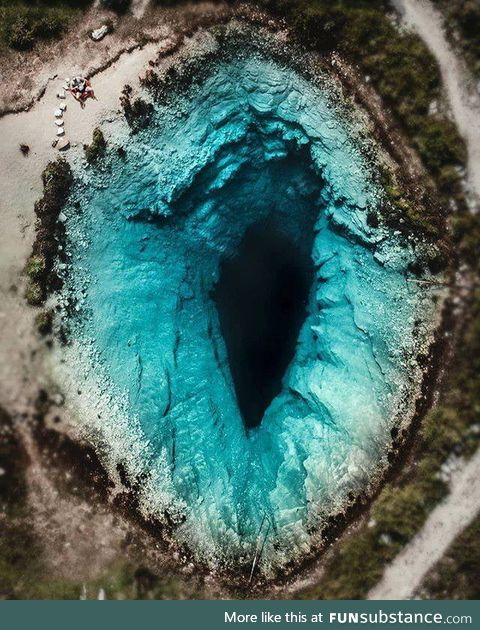 Blue hole, Croatia