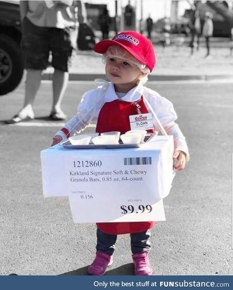 And the cutest costume of the decade goes to