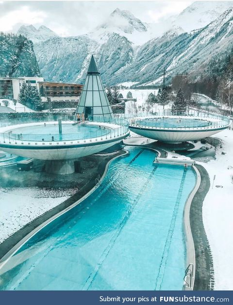 Aqua Dome in Tirol, Austria