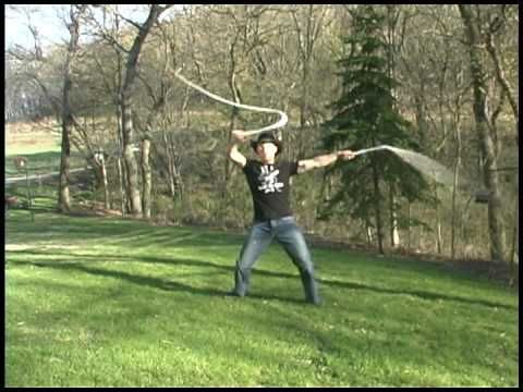 Watch this guy crack whips in a way you never thought was possible