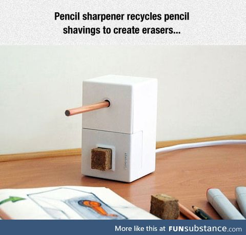 Awesome pencil sharpener