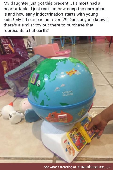 Meanwhile, in a Flat Earther Facebook group