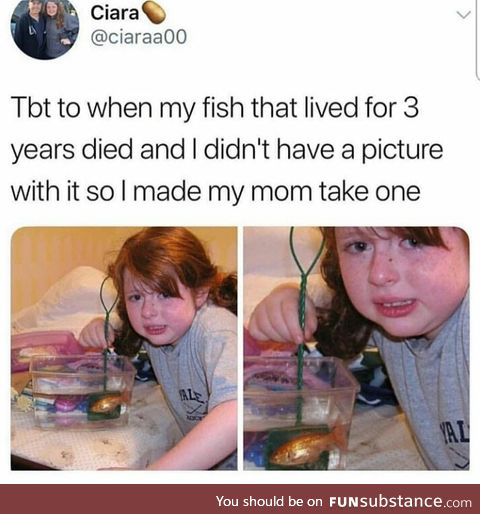 The kid looks just like my mum when she was little