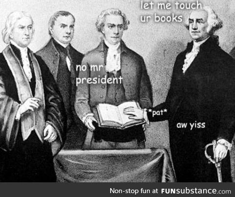 That's Enough, Washington