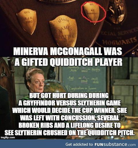 """Minerva """"Motherf**king"""" McGonagall"""