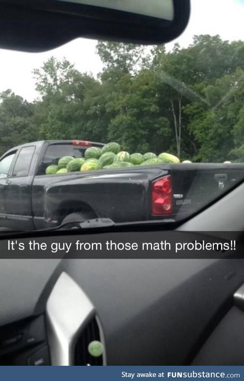 This guy was the source of a lot of confusion in math class