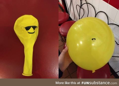 This cool guy balloon