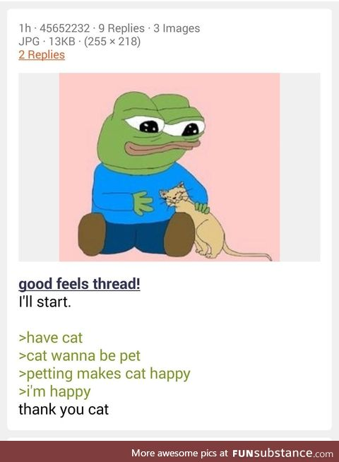 Anon is wholesome