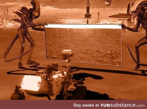 Meanwhile, in Mars