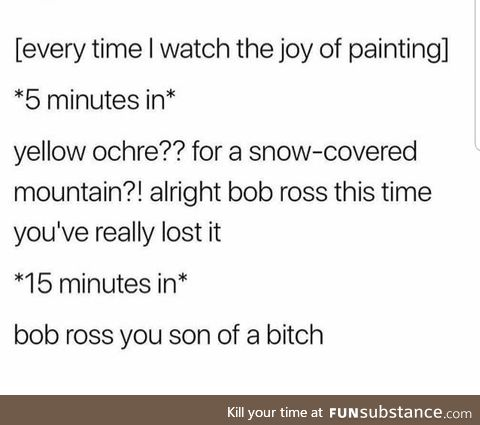 bob ross!!!!!