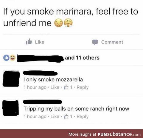 Gonna go smoke some ketchup