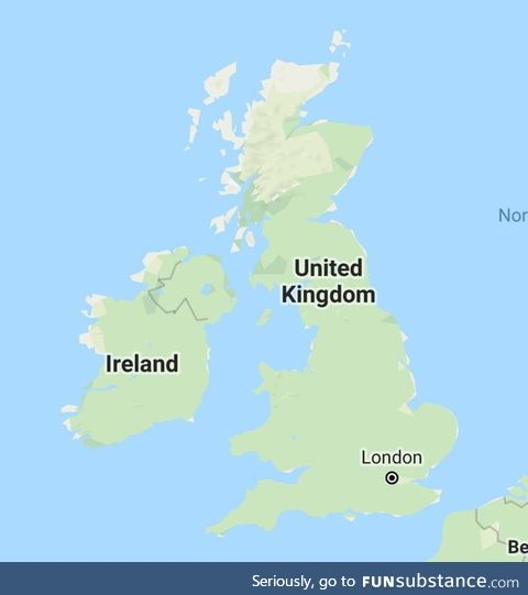 A map showing every dentist in the UK
