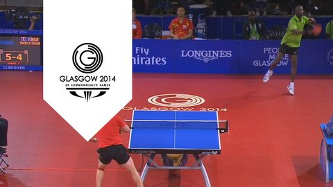 Table Tennis Stars Exchange 41 Shots. Most Insane Ping Pong Game Ever