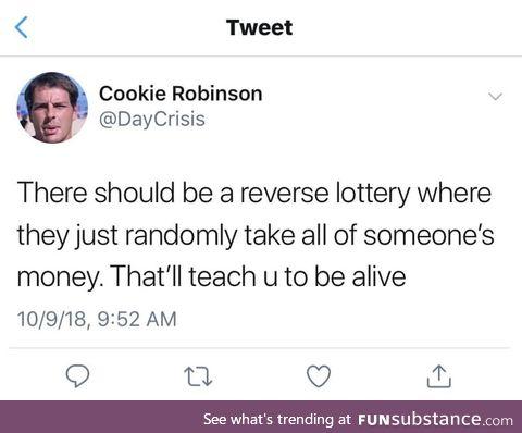 Gotta learn somehow