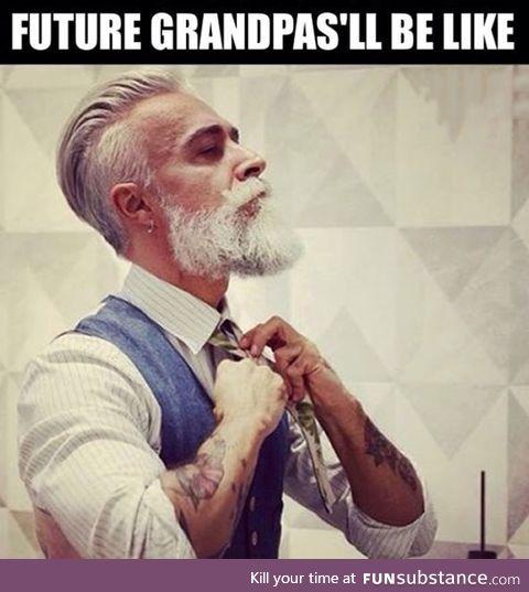 The grandpas of the future