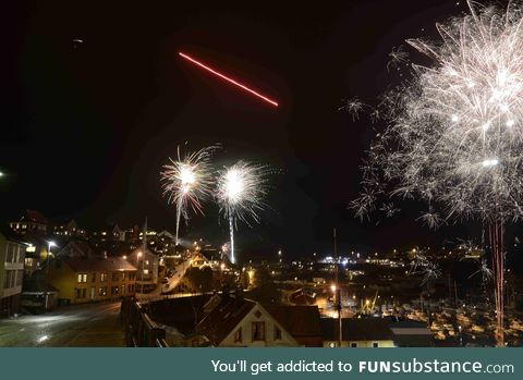 Happy new year from Norway