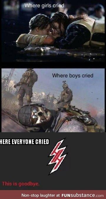 The hero we needed, not the hero we deserved.. Rip