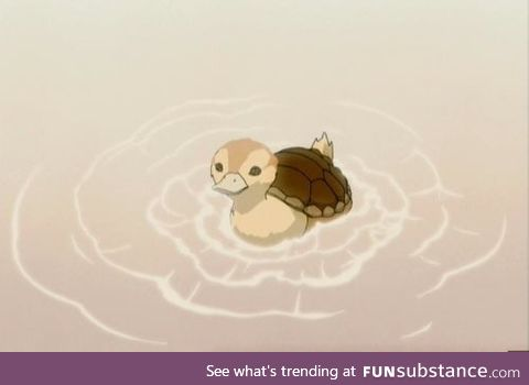 BEHOLD! A turtleduck from Avatar