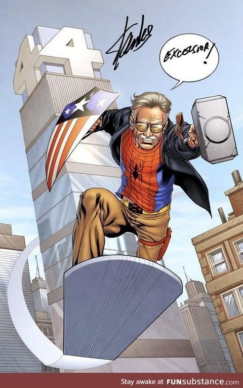 Stan Lee leaving our world for a better one (November 12, 2018)