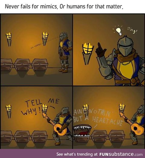 How to find a mimic