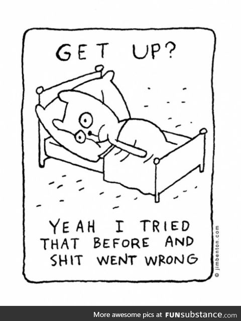 me most mornings
