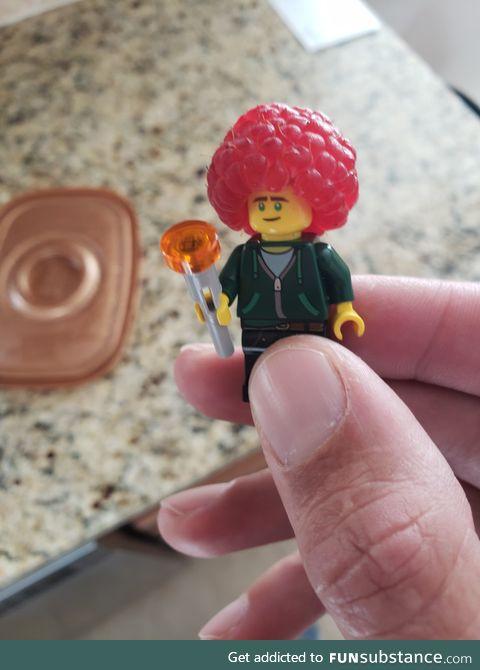 Best Lego hair, ever!