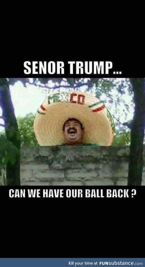 Señor Trump