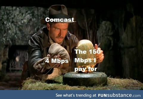 Comcast can eat ****