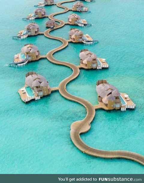 Hotel apartments in Maldives !