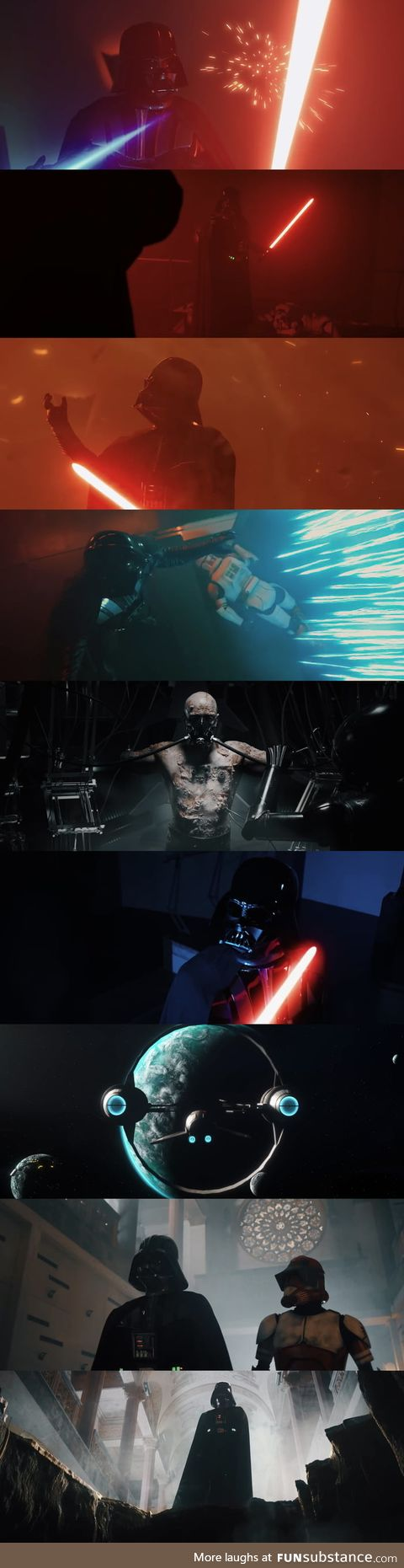 [VADER EPISODE 1: SHARDS OF THE PAST] The quality of this fan short was so mindblowing