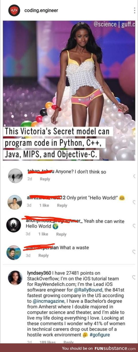 Is it really difficult for some men to believe women can be both smart and beautiful?