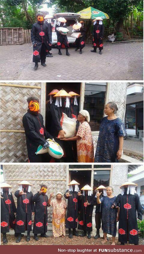 AKATSUKI restoring Faith in Humanity (only in wkwkwk land)