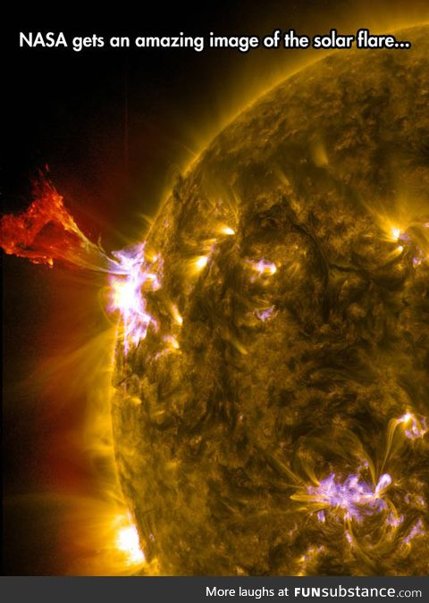 Solar flares are so beautiful