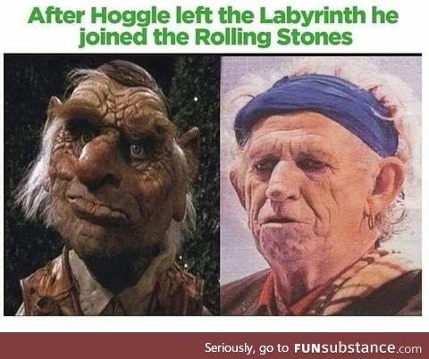 Hoggle aged so gracefully