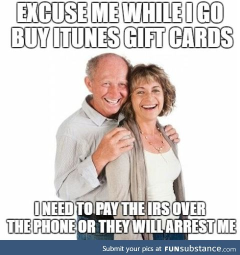 PSA: Speak to your loved ones about the dangers of paying taxes with gift cards