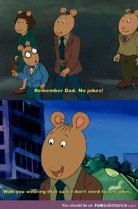 Arthur's Dad Was A Savage