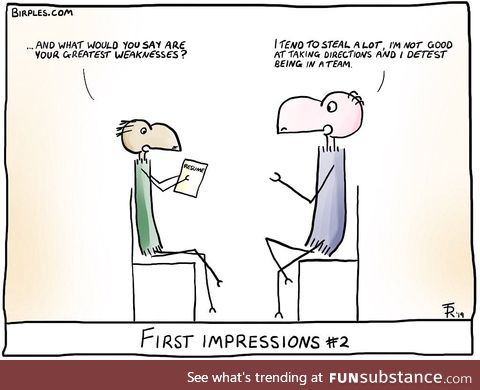 First Impressions #2