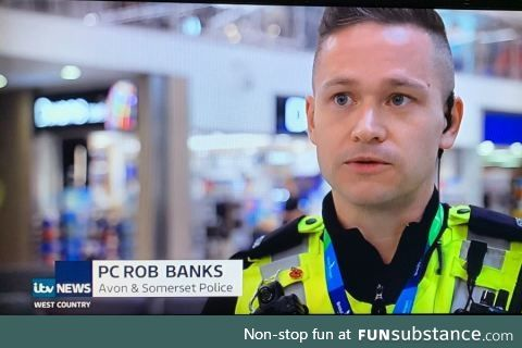 perfect name for a policeman