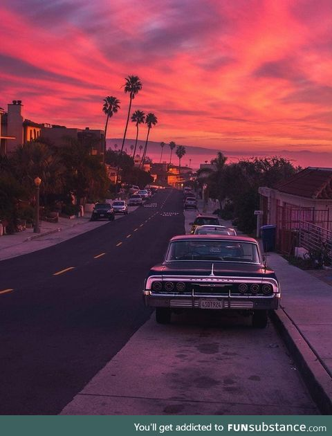 That's why they call it Sunset Blvd