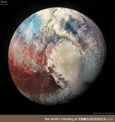 Recent picture of Pluto
