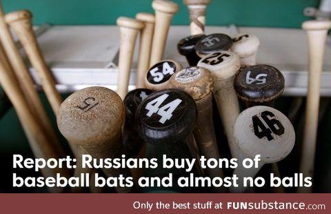 Hint: Not for baseball
