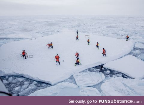 Soccer in the arctic